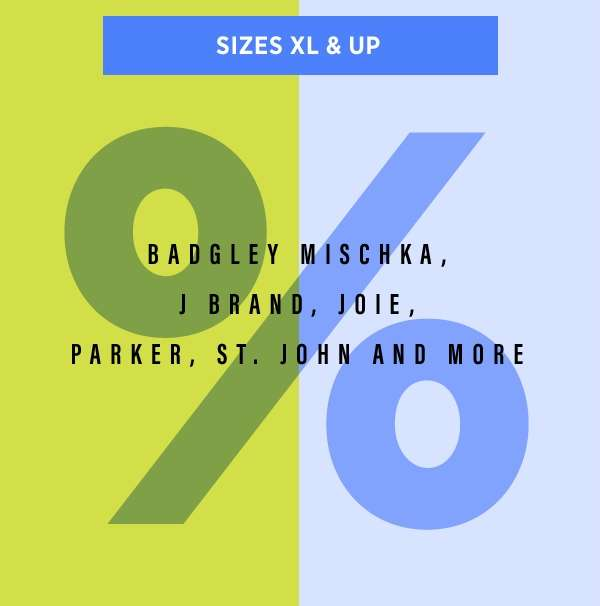 Sizes XL & Up