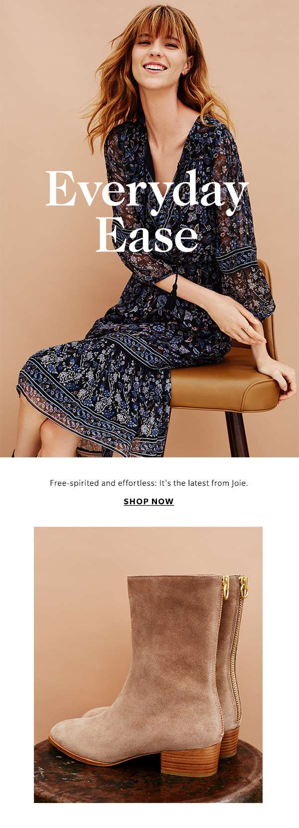 Free-spirited and effortless: It's the latest from Joie.