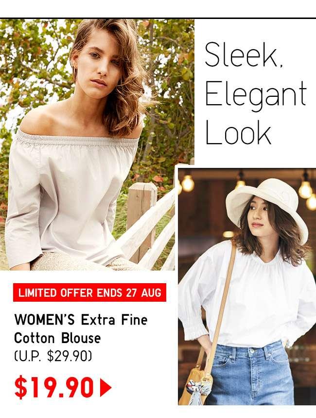 Shop Women's Extra Fine Cotton Blouse at $19.90