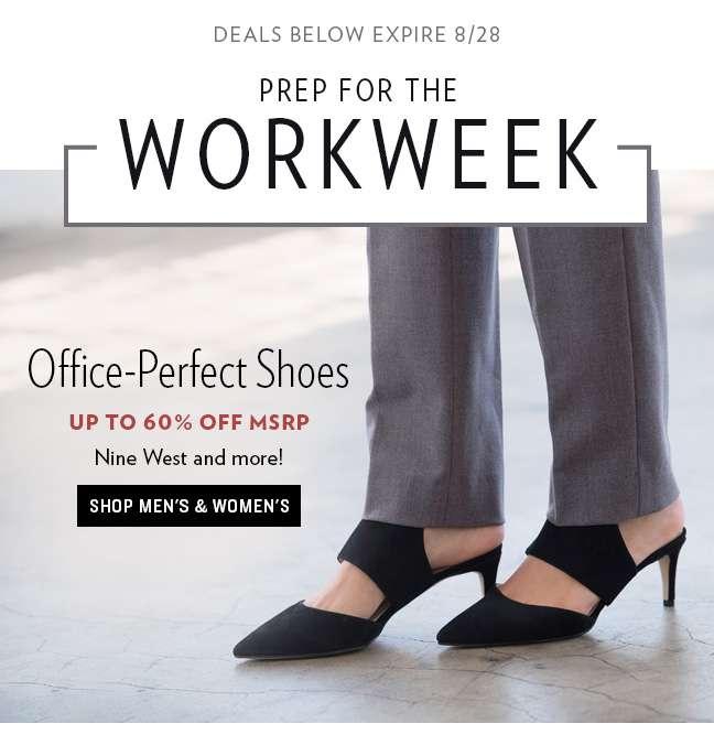 Office Footwear