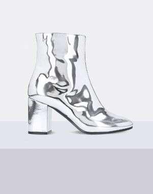 Balenciaga Ville patent ankle boots