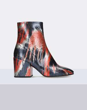 Dries Van Noten Patterned woven ankle boots