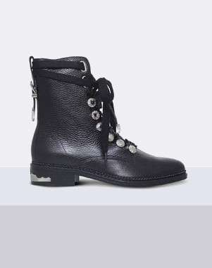 Toga Pulla Military leather boots