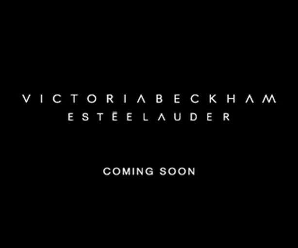 Coming soon: new Victoria Beckham x Estée Lauder