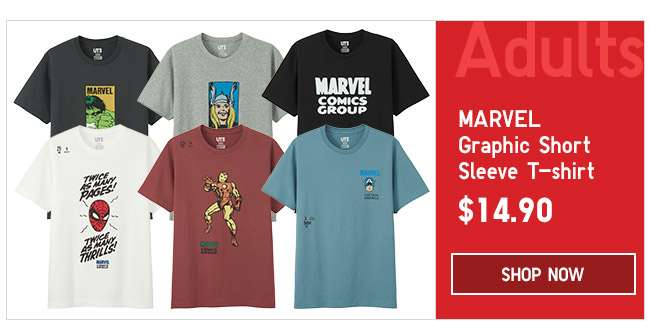 Shop Adult's Marvel UT Collection