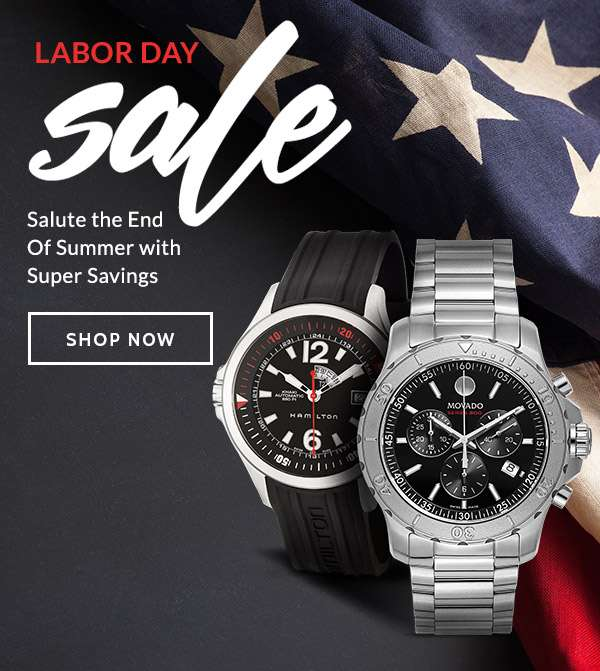 LABOR DAY SALE — Salute the End of Summer with Super Savings