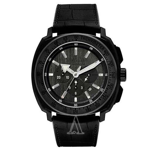 Men's  JeanRichard Terrascope Chrono Carbon Watch