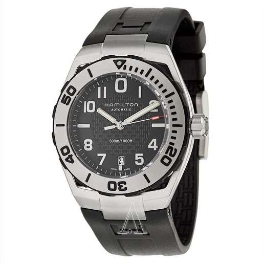 Men's Hamilton Khaki Navy Sub Auto Watch