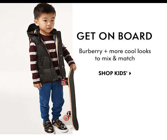 Shop Kids' Burberry