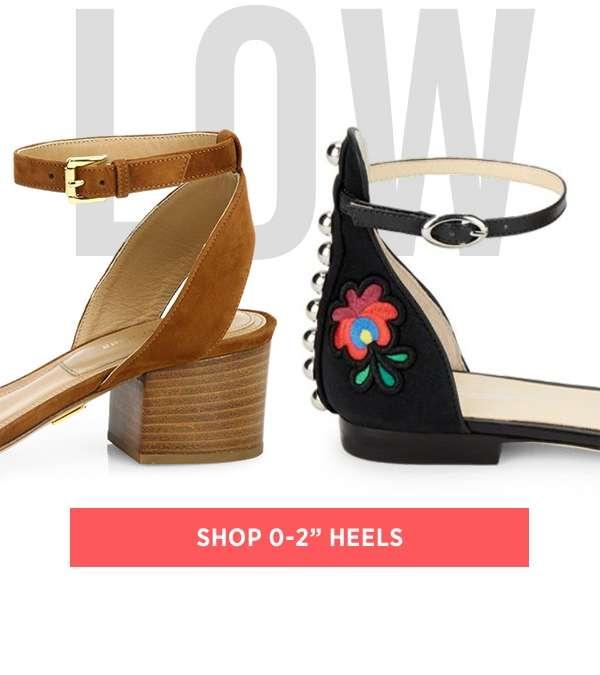 Shop 0-2 Heels