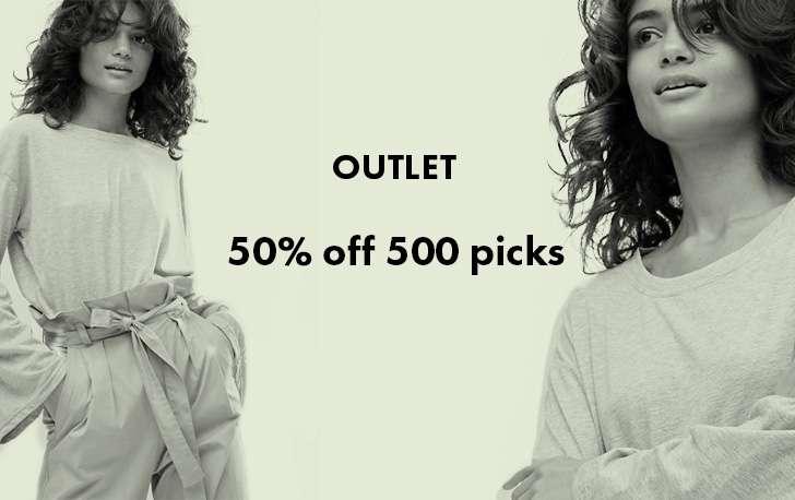 OUTLET - 50% off 500 picks