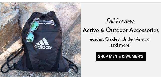Shop Active and Outdoor Accessories