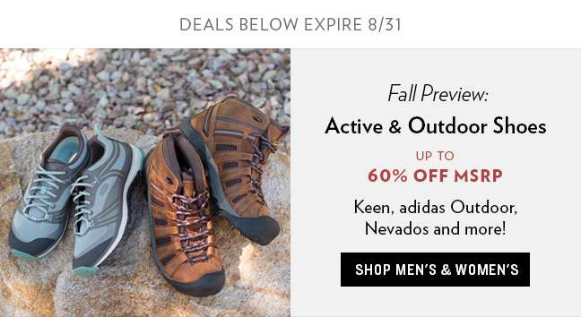 Shop Active and Outdoor Shoes