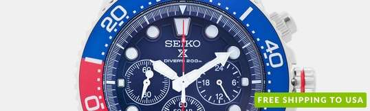 Seiko Prospex Solar SSC Watch
