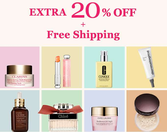 Get Extra 20% Off + Free Shipping! You've scored our top-secret deal! Offer ends 3 Sept 2017.