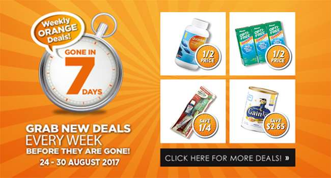 New Orange Deals EVERY Week!