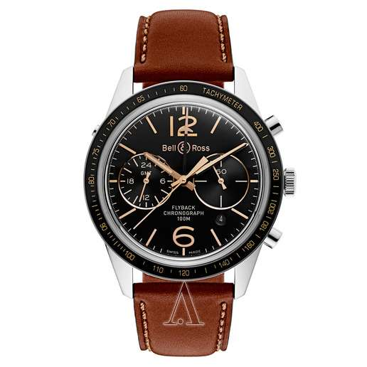 Men's  Bell and Ross BR 126 Sport Heritage GMT Watch