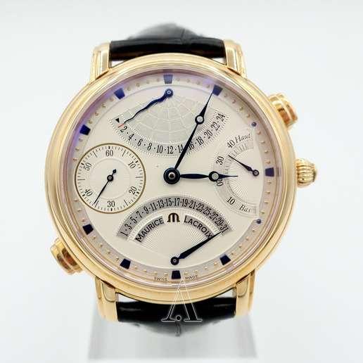 Men's  Maurice Lacroix Masterpiece Double Retrograde Watch