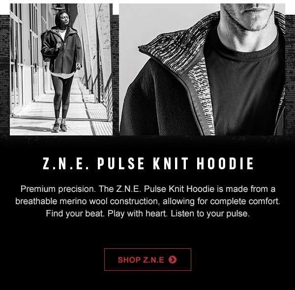 Z.N.E Pulse Knit Hoodie