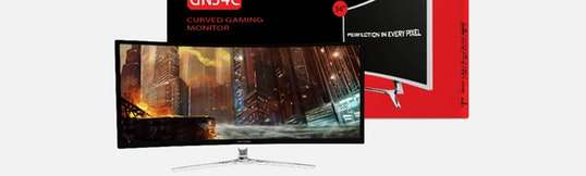 Viotek 34-Inch 1440p Curved 100Hz Gaming Monitor