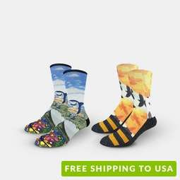 Good Luck Sock Sublimated Graphic Socks (2-Pack)