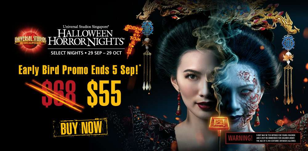 """Halloween Horror Nightsâ""""¢ is back and bigger than before with 7 Deadlier Sins"""