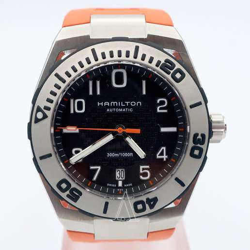 Men's  Hamilton Khaki Navy Sub Auto Watch