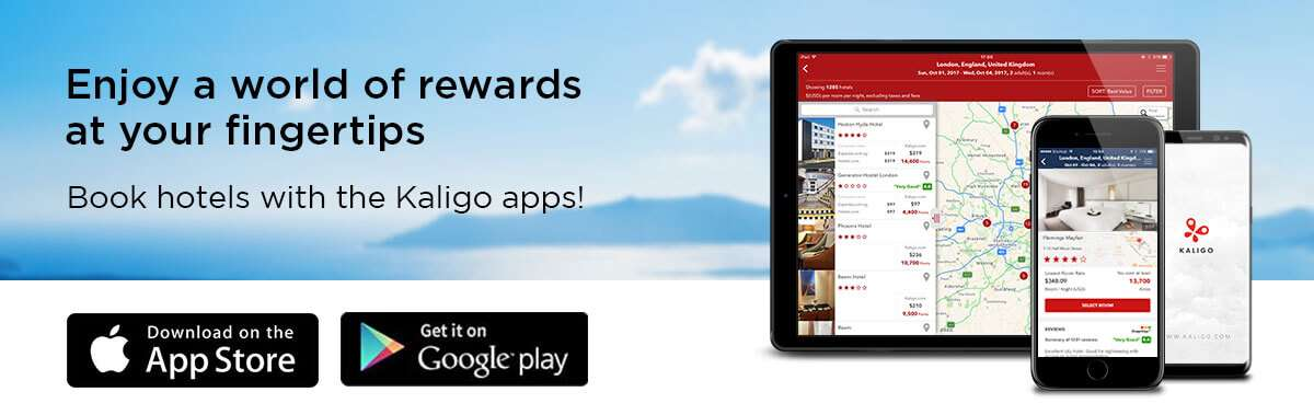 Download the Kaligo apps!