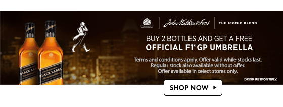 Johnnie Walker promotion