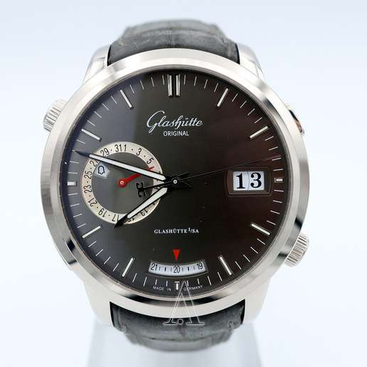 Men's  Glashutte Senator Diary Watch