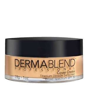 Dermablend Cover Crème Full Coverage Foundation Make-Up with SPF30 for All-Day Hydration (Various Shades)