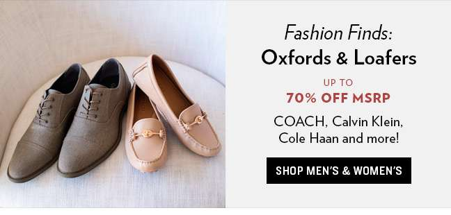 Fashion Oxfords & Loafers
