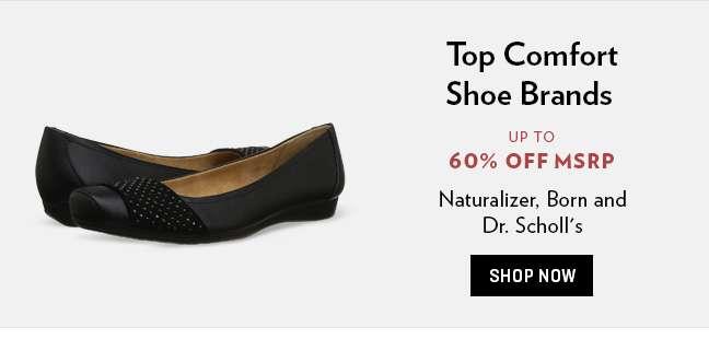 Top Comfort Footwear Brands