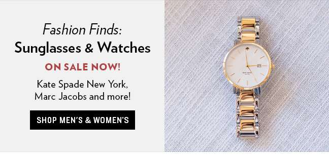Fashion Sunglasses & Watches