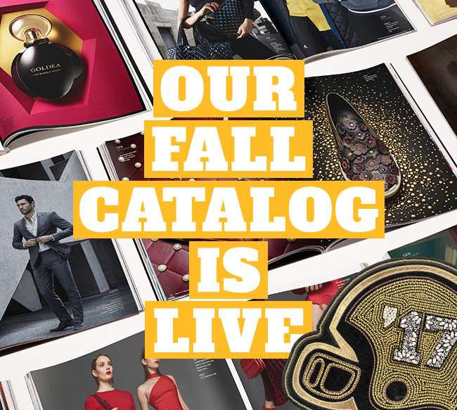 OUR FALL CATALOG IS LIVE