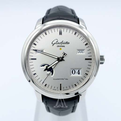Men's Glashutte Senator Perpetual Calendar Watch