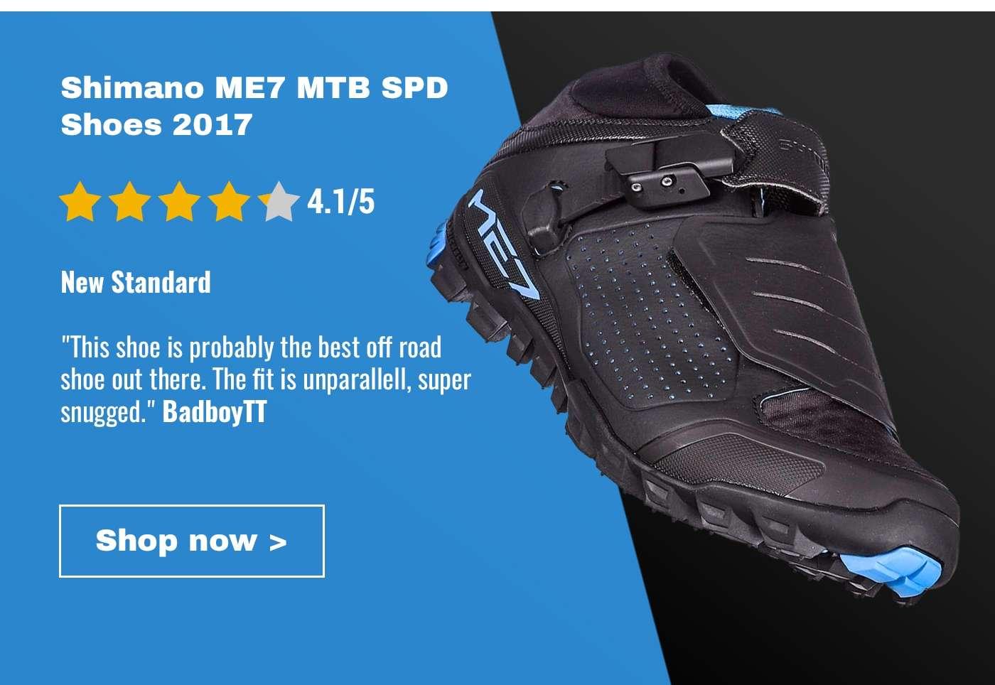 Shimano ME7 MTB SPD Shoes 2017