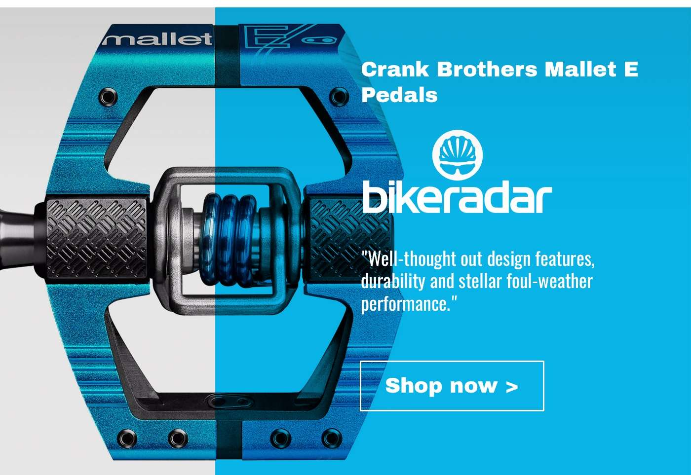 Crank Brothers Mallet E Pedals
