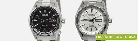 Seiko Presage SRPB Automatic Watch