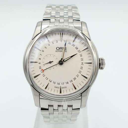 Men's  Oris Artelier Small Second Pointer Date Watch
