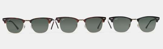 Ray-Ban Clubmaster Classic Sunglasses