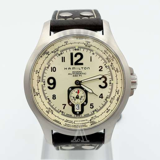 Men's  Hamilton Khaki Aviation QNE Watch
