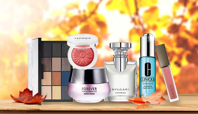 Autumn Essentials Up to 60% Off! YSL, Clinique, Biotherm, Guerlain & more! Ends 25 Sep 2017