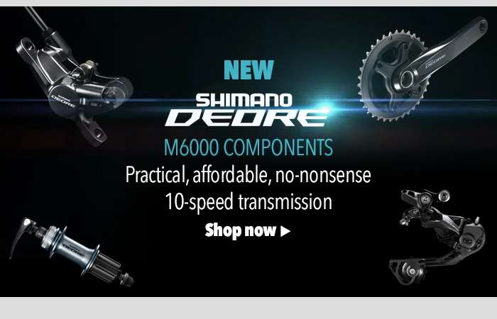 NEW Shimano Deore M6000 Components