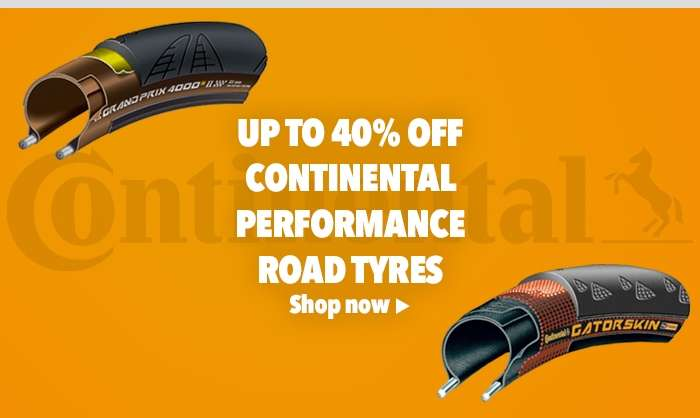 Up to 40% offContinental Performance Road Tyres