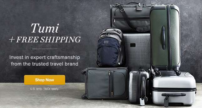 Tumi with Free Shipping