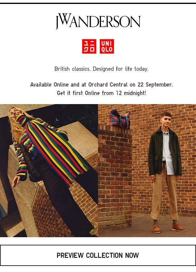 Coming soon at 22 sep midnight.JW Anderson X UNIQLO Collection.