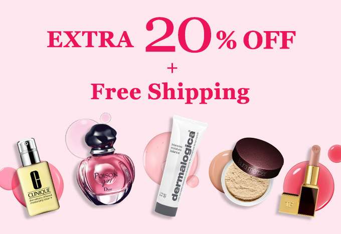 Get Extra 20% Off + Free Shipping! You've scored our top-secret deal! Offer ends 24 Sept 2017.