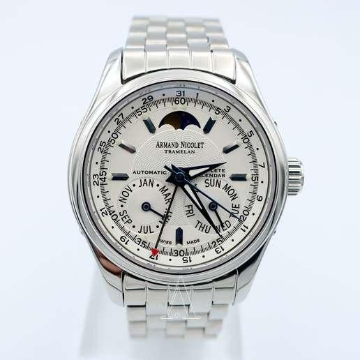 Men's  Armand Nicolet Hunter Complete Calendar Watch