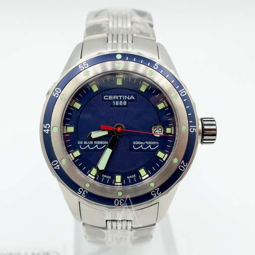Men's  Certina DS Blue Ribbon Watch